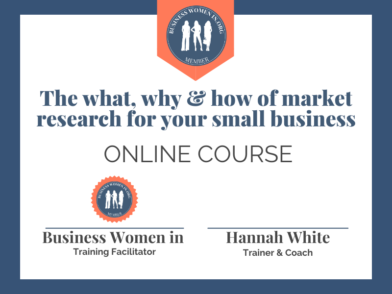 The what, why and how of market research for your small business image